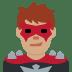 🦹🏽♂️ man supervillain: medium skin tone Emoji on Twitter Platform