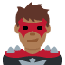 🦹🏾‍♂️ man supervillain: medium-dark skin tone Emoji on Twitter Platform