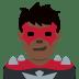 🦹🏿♂️ man supervillain: dark skin tone Emoji on Twitter Platform
