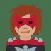 🦹🏽♀️ woman supervillain: medium skin tone Emoji on Twitter Platform