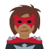 🦹🏾‍♀️ woman supervillain: medium-dark skin tone Emoji on Twitter Platform