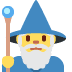 🧙‍♂️ Man Mage Emoji on Twitter Platform