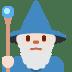 🧙🏻♂️ man mage: light skin tone Emoji on Twitter Platform