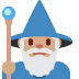 🧙🏽‍♂️ man mage: medium skin tone Emoji on Twitter Platform