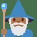 🧙🏾♂️ man mage: medium-dark skin tone Emoji on Twitter Platform