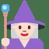🧙🏻♀️ woman mage: light skin tone Emoji on Twitter Platform