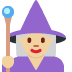 🧙🏼‍♀️ woman mage: medium-light skin tone Emoji on Twitter Platform