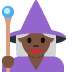 🧙🏿‍♀️ woman mage: dark skin tone Emoji on Twitter Platform