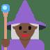 🧙🏿♀️ woman mage: dark skin tone Emoji on Twitter Platform