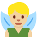 🧚🏼♂️ man fairy: medium-light skin tone Emoji on Twitter Platform