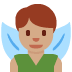 🧚🏽‍♂️ man fairy: medium skin tone Emoji on Twitter Platform