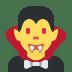 🧛 vampire Emoji on Twitter Platform
