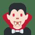 🧛🏻♂️ man vampire: light skin tone Emoji on Twitter Platform