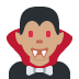 🧛🏽♂️ man vampire: medium skin tone Emoji on Twitter Platform