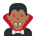 🧛🏾‍♂️ man vampire: medium-dark skin tone Emoji on Twitter Platform