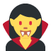 🧛‍♀️ woman vampire Emoji on Twitter Platform