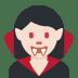 🧛🏻♀️ woman vampire: light skin tone Emoji on Twitter Platform
