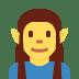 🧝 elf Emoji on Twitter Platform