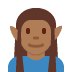 🧝🏾 elf: medium-dark skin tone Emoji on Twitter Platform