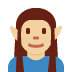 🧝🏼♂️ man elf: medium-light skin tone Emoji on Twitter Platform