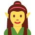 🧝‍♀️ woman elf Emoji on Twitter Platform