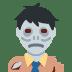 🧟 Zombie Emoji on Twitter Platform