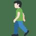 🚶🏻 person walking: light skin tone Emoji on Twitter Platform