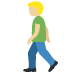 🚶🏼 Medium Light Skin Tone Person Walking Emoji on Twitter Platform