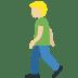 🚶🏼♂️ man walking: medium-light skin tone Emoji on Twitter Platform