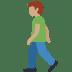 🚶🏽♂️ man walking: medium skin tone Emoji on Twitter Platform