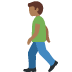 🚶🏾‍♂️ man walking: medium-dark skin tone Emoji on Twitter Platform