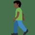 🚶🏿♂️ man walking: dark skin tone Emoji on Twitter Platform