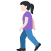 🚶🏻‍♀️ woman walking: light skin tone Emoji on Twitter Platform