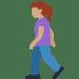 🚶🏽♀️ woman walking: medium skin tone Emoji on Twitter Platform