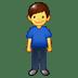 🧍♂️ man standing Emoji on Twitter Platform