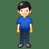 🧍🏻♂️ man standing: light skin tone Emoji on Twitter Platform