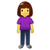 🧍‍♀️ woman standing Emoji on Twitter Platform