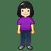 🧍🏻♀️ woman standing: light skin tone Emoji on Twitter Platform