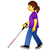 👩‍🦯 Woman With Probing Cane Emoji on Twitter Platform