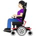 👩🏻‍🦼 Light Skin Tone Woman In Motorized Wheelchair Emoji on Twitter Platform