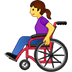 👩🦽 woman in manual wheelchair Emoji on Twitter Platform