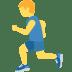 🏃 Person Running Emoji on Twitter Platform