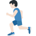 🏃🏻‍♂️ man running: light skin tone Emoji on Twitter Platform