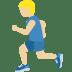🏃🏼♂️ man running: medium-light skin tone Emoji on Twitter Platform