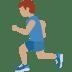 🏃🏽♂️ man running: medium skin tone Emoji on Twitter Platform