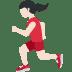 🏃🏻♀️ woman running: light skin tone Emoji on Twitter Platform