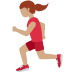 🏃🏽‍♀️ woman running: medium skin tone Emoji on Twitter Platform