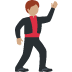 🕺🏽 man dancing: medium skin tone Emoji on Twitter Platform