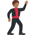 🕺🏾 man dancing: medium-dark skin tone Emoji on Twitter Platform