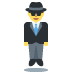 🕴️ man in suit levitating Emoji on Twitter Platform